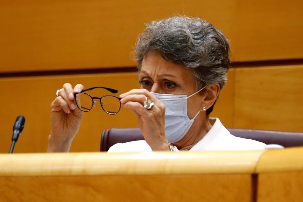 Rosa María Mateo comparece ante la Comisión Mixta de Control Parlamentario