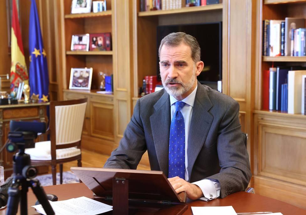 El Rey resalta que Madrid y su entorno están entre las zonas más golpeadas por Filomena