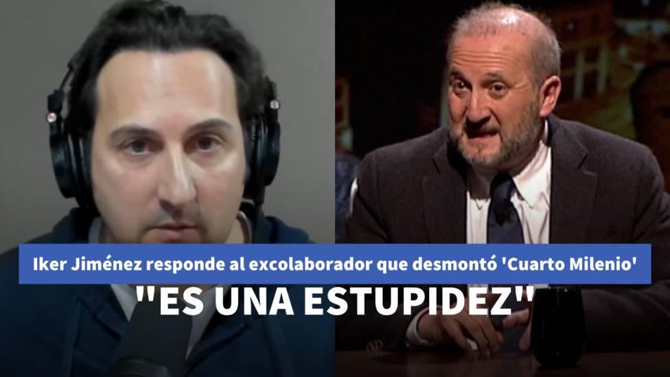 Iker Jiménez responde al excolaborador que desmontó Cuarto Milenio: Es una estupidez