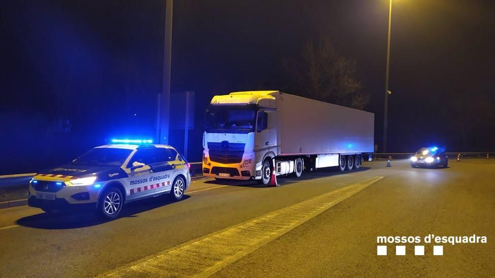 Sucesos.- Detenido por presuntamente conducir un camión bajo los efectos del alcohol en Girona