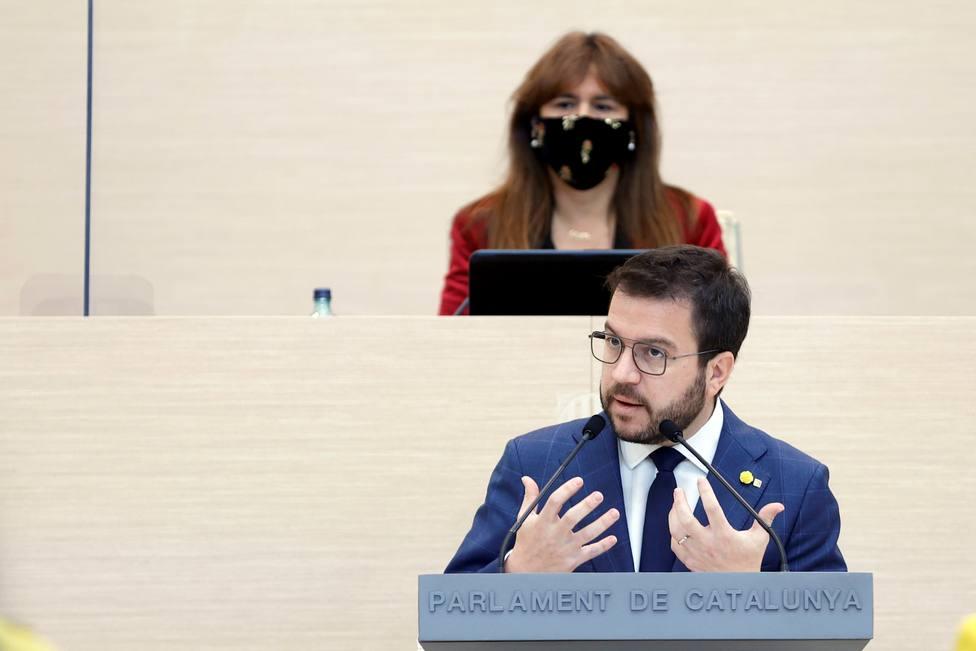 Segunda sesión d e investidura del presidente de la Generalitat