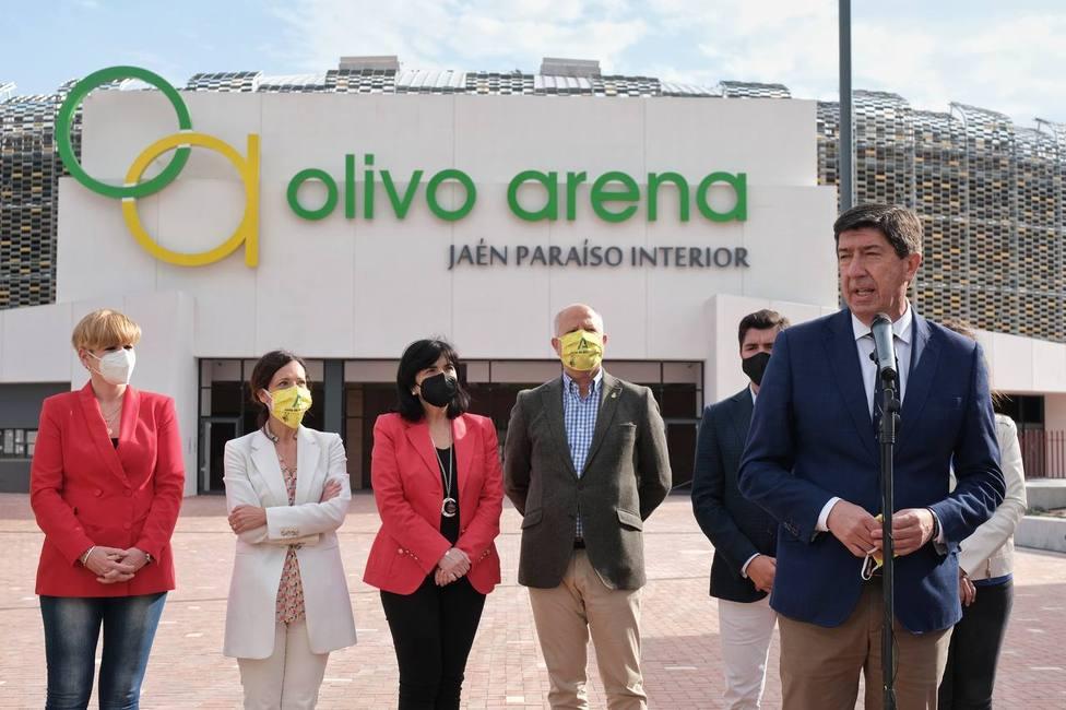 El Olivo Arena podría estar listo a partir de junio según la Junta