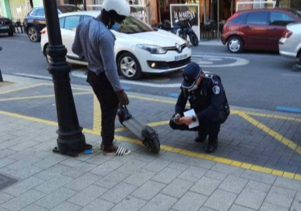 Del 24 al 30 de mayo la Policía Local de Albacete inicia una campaña de vigilancia y control de los VMP