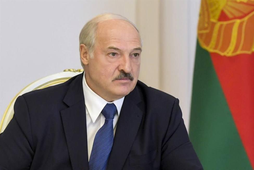 Alexander Lukashenko, uno de los presidentes más autoritarios de Europa, en un acto oficial