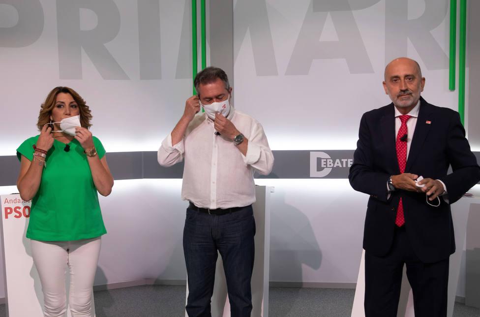 La campaña de las primarias del PSOE-Andalucía enfila su recta final