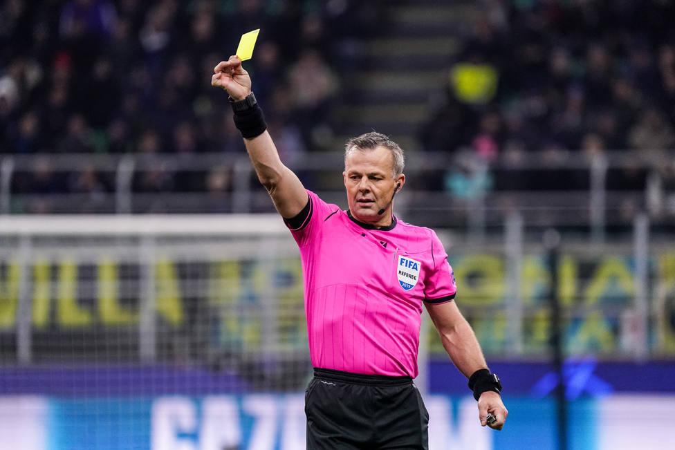 Björn Kuipers, el colegiado que arbitró la final de la Eurocopa entre Italia e Inglaterra.