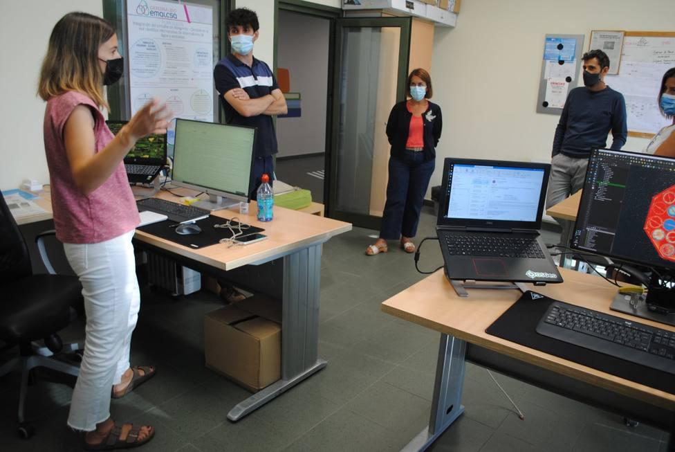 Argerey visitó las instalaciones de una de las empresas que colaboran con el Polo