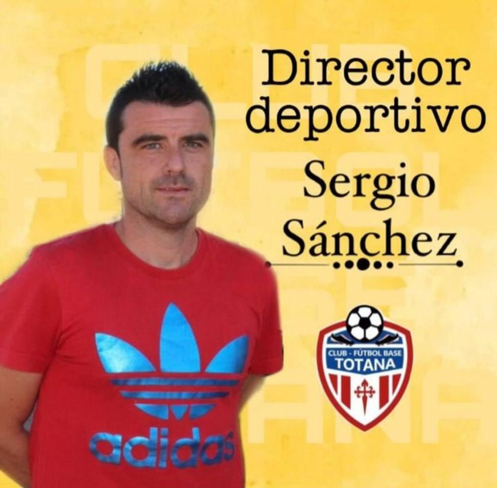 Sergio Sánchez, nuevo DT del Fútbol Base Totana