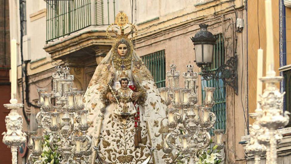 Virgen del Rosario Patrona de Cádiz