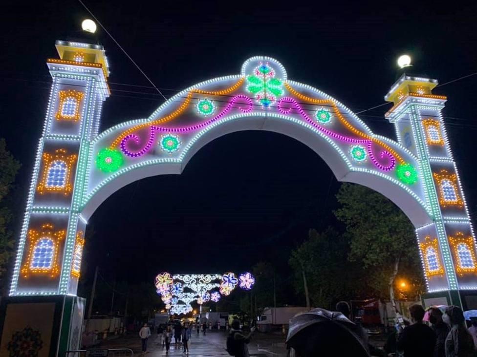 El Ayuntamiento de Cáceres estudia ampliar las Ferias de San Miguel debido a las lluvias de estos días