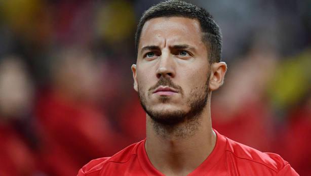 Eden Hazard, dorsal 10 de la selección de Bélgica. Cordon Press