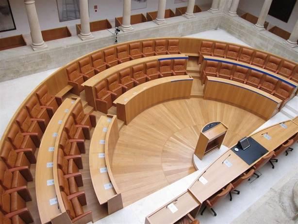 hemiciclo del Parlamento de La Rioja