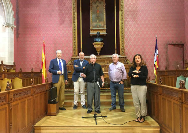 Los Rotarios de Mallorca inaugurarán el kilómetro 0 del camino de Santiago desde el santuario de Lluc