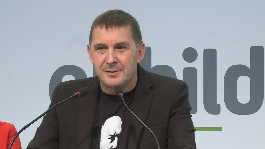 Otegi espera que el fallo de Estrasburgo tenga un condicionamiento en la causa contra los líderes del procés