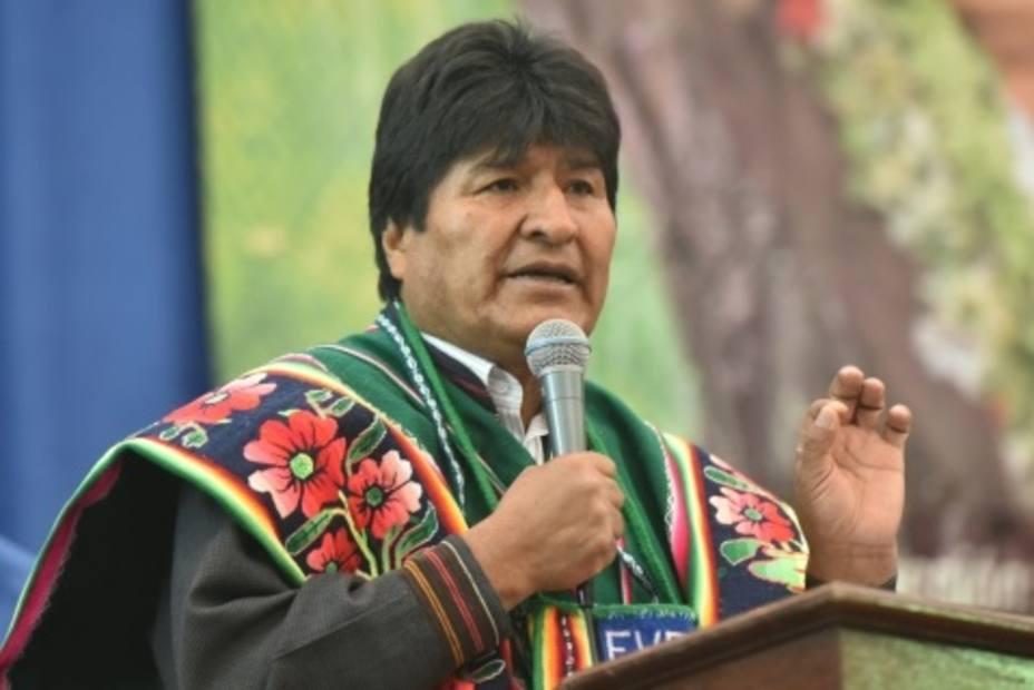 Evo Morales denuncia el chantaje de EEUU, que amenaza con bloquear la financiación internacional a Bolivia