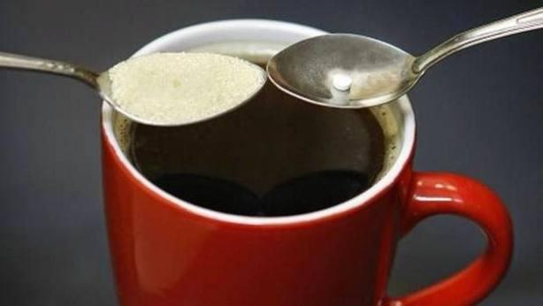 Edulcorante en el café
