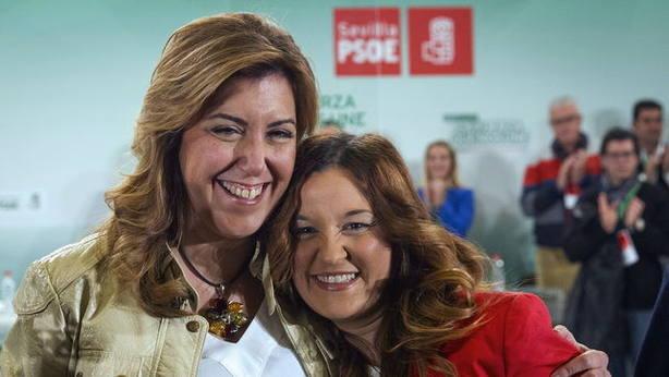 Susana Díaz y Verónica Pérez