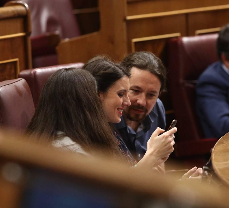 Irene Montero defiende que Iglesias se reúna con Sánchez estando de baja: A uno no se le traga la tierra