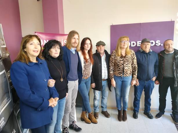 Lorena González, presentada oficialmente como candidata de Podemos a la Alcaldía de Ponferrada