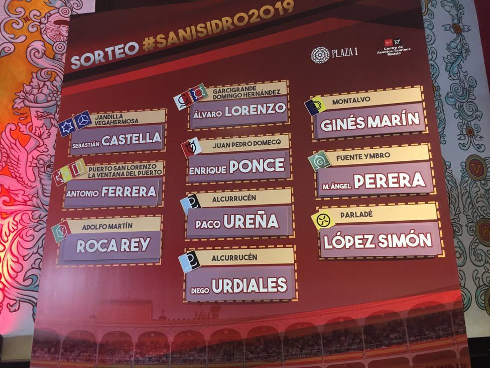 """A Roca Rey le toca el """"bombazo"""" del sorteo de San Isidro: Adolfo Martin"""
