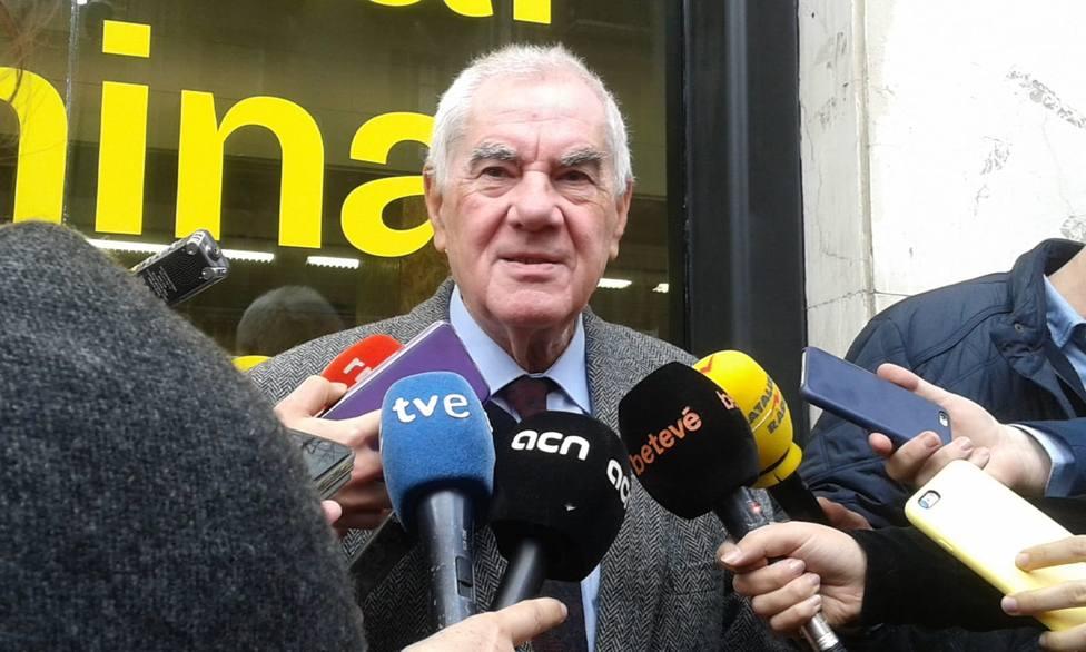 Maragall (ERC) ve en la petición de retirar lazos amarillos una autoacusación del Estado