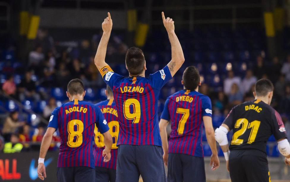 Barcelona, líder