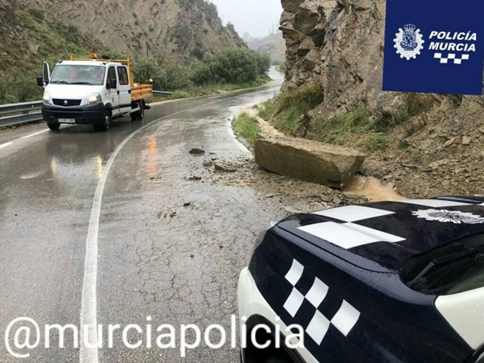 Abiertas al tráfico 9 carreteras afectadas por las lluvias