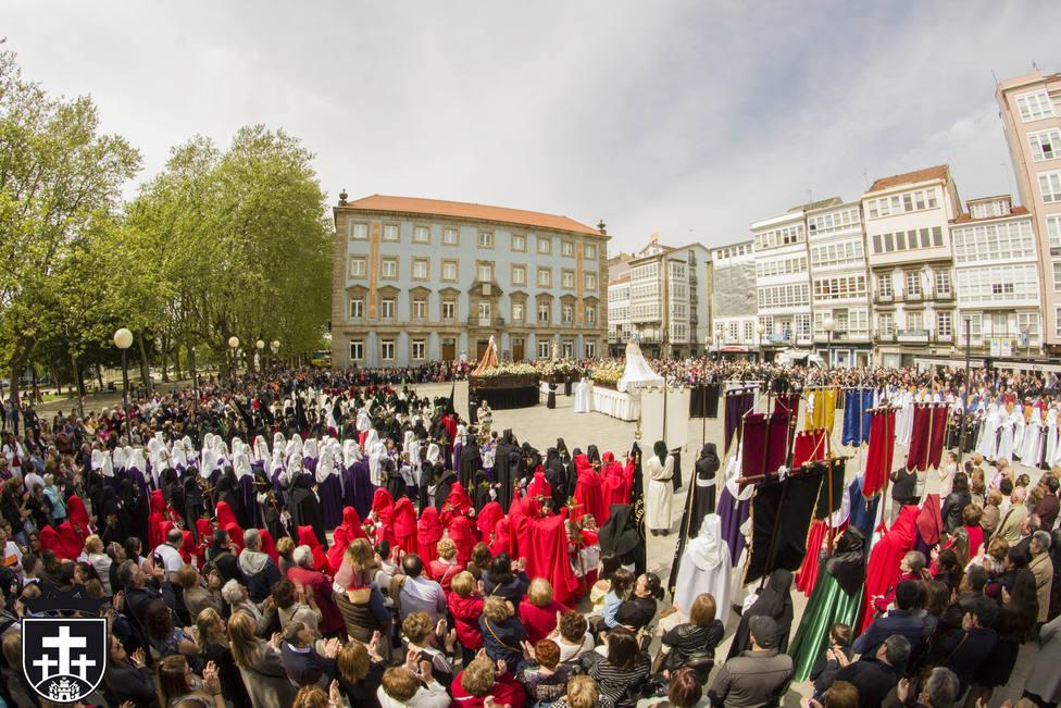 La plaza de la Constitución acogerá la Resurrección de Cristo - FOTO: Junta General de Cofradías