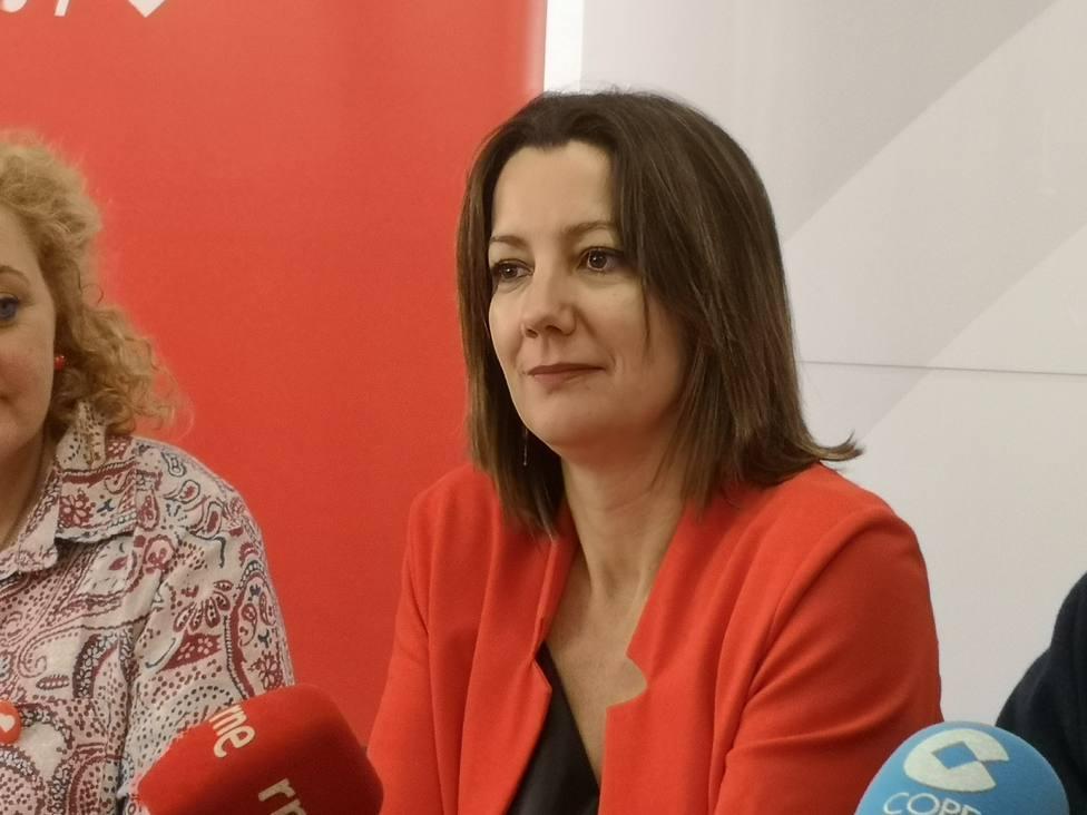 "Lara Méndez apela al ""voto útil"" al PSdeG para evitar que gobierne la derecha"