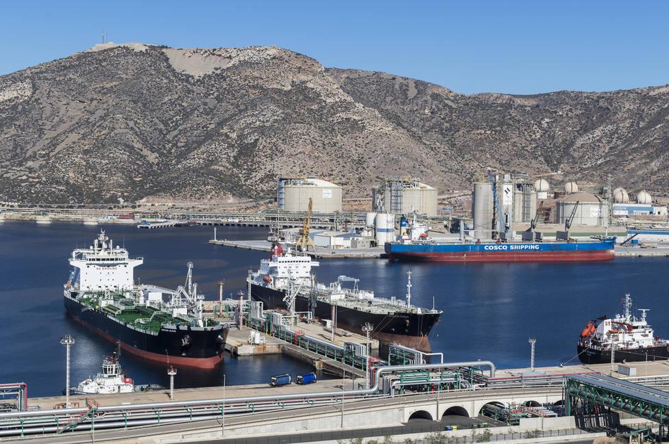 El tráfico portuario en Cartagena marca un máximo histórico en mayo