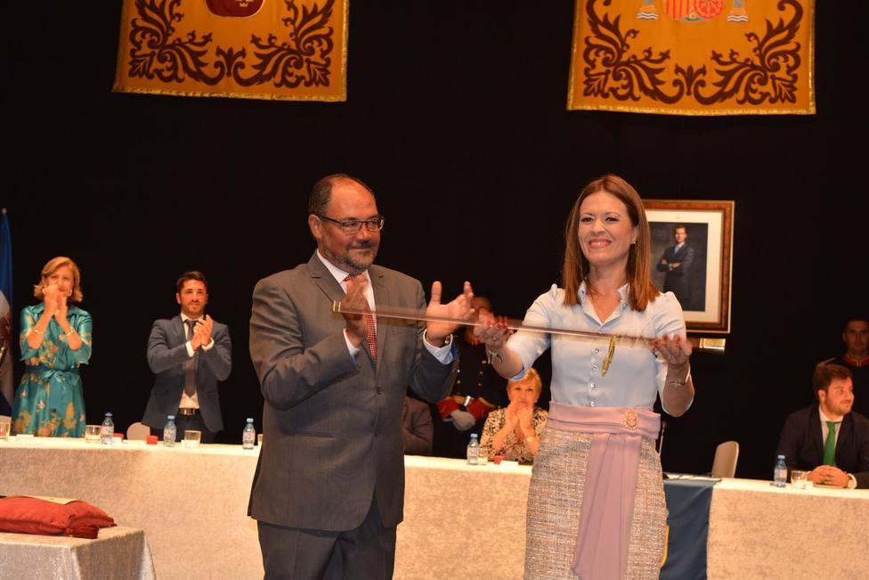 Maria del Carmen Moreno, investida alcaldesa de Águilas