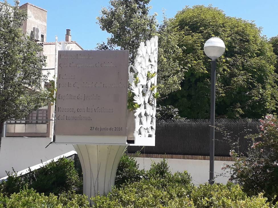 Monumento a las víctimas del terrorismo