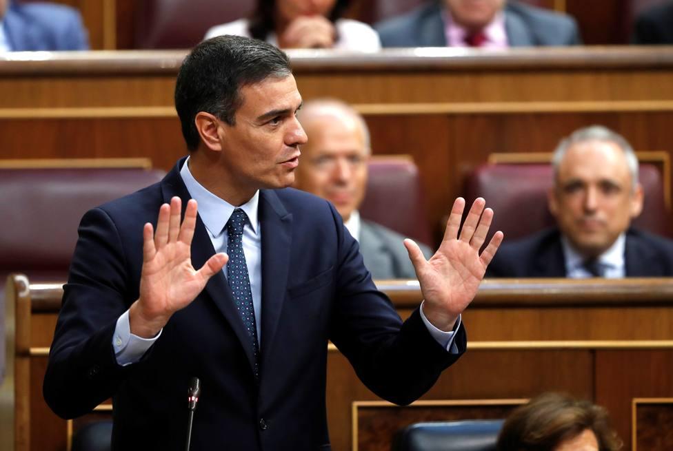 Las excesivas medidas de seguridad de Pedro Sánchez en el Congreso que la redes le han reprochado