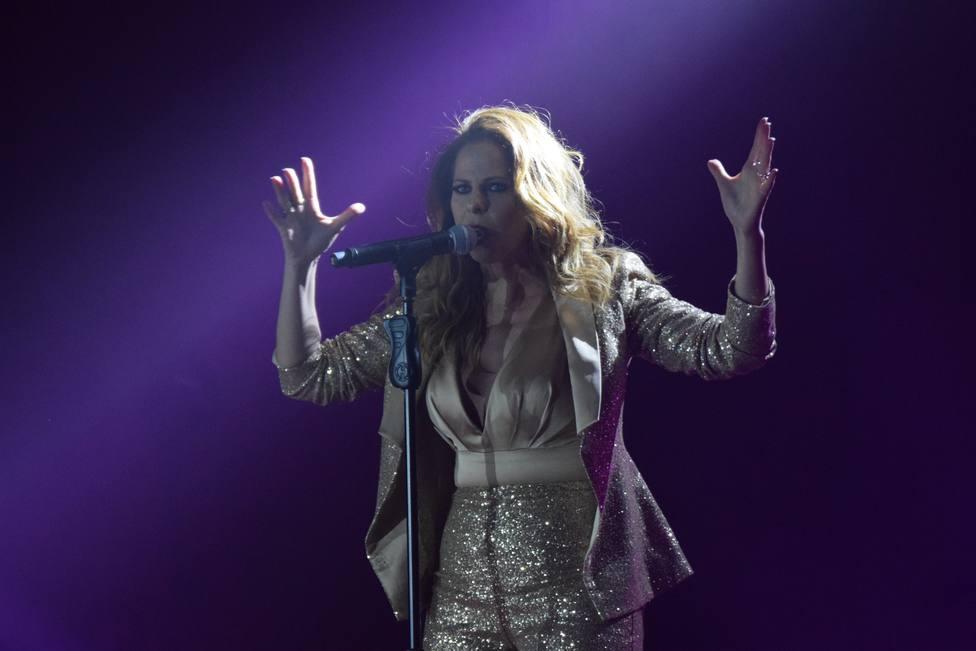 Pastora Soler anuncia su segundo embarazo en pleno concierto