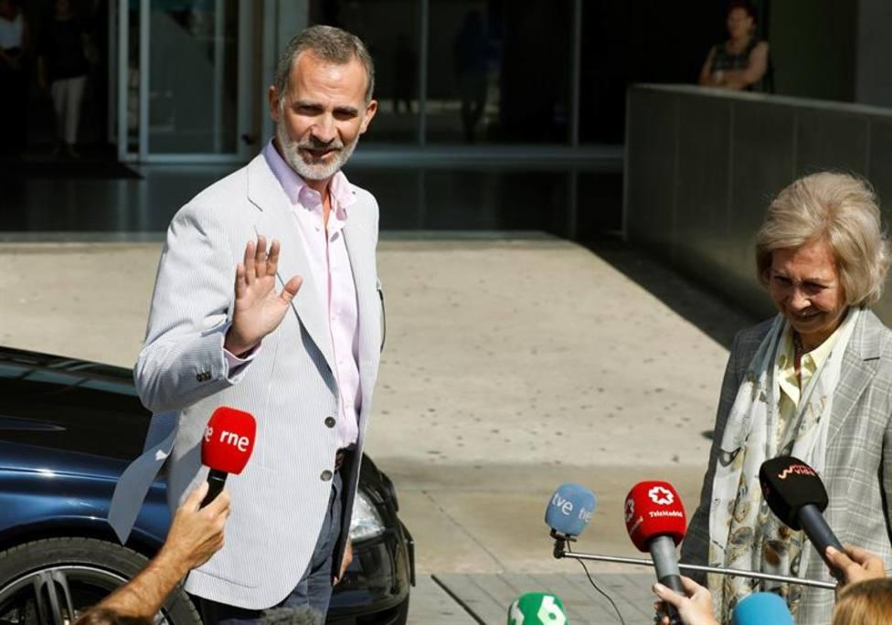 Felipe VI, tras la operación a don Juan Carlos: Ha ido todo perfecto