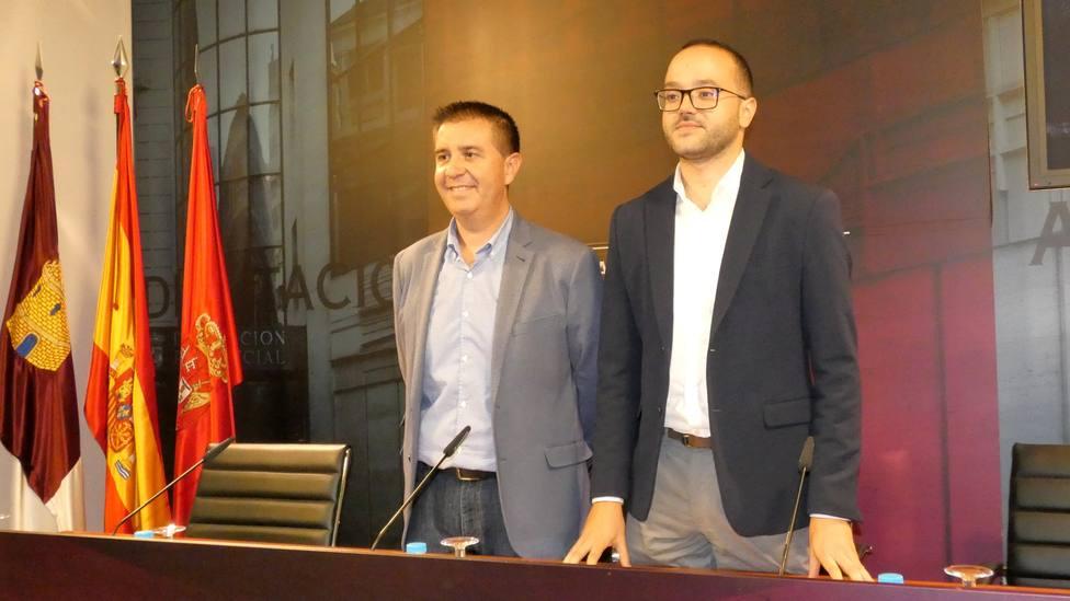 Santiago Cabañero y Fran Valera