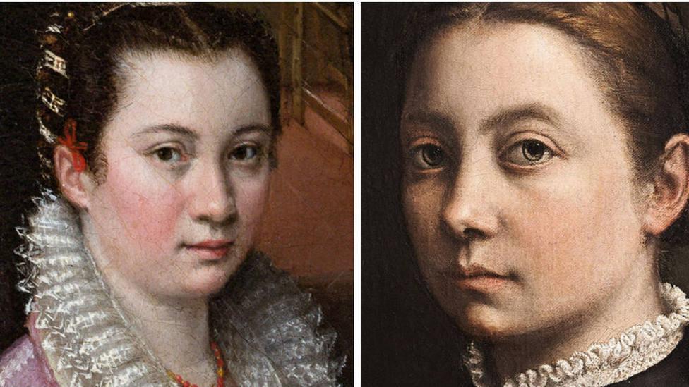 Sofonisba Anguissola y Lavinia Fontana son dos de las pintoras más importantes de la historia del arte