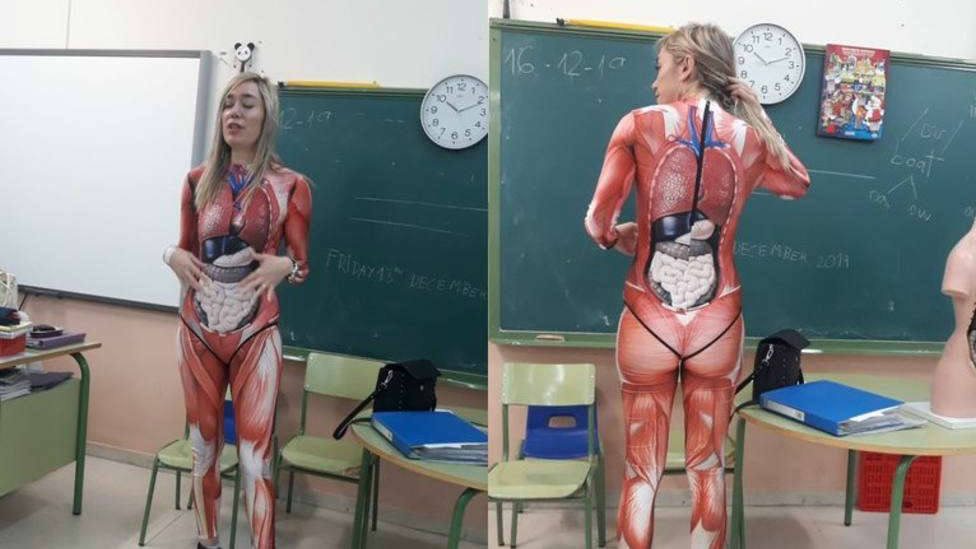 La profesora de Valladolid que se deja la piel para enseñar anatomía, entre lo más visto en COPE.es