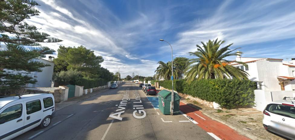 Renovación del alumbrado público de la avenida de Cales Piques