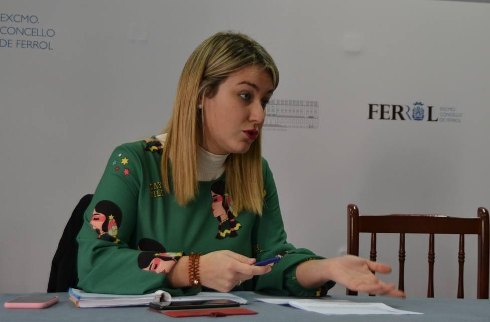 Ana Lamas es concejala de Obras de Ferrol - FOTO: Concello de Ferrol