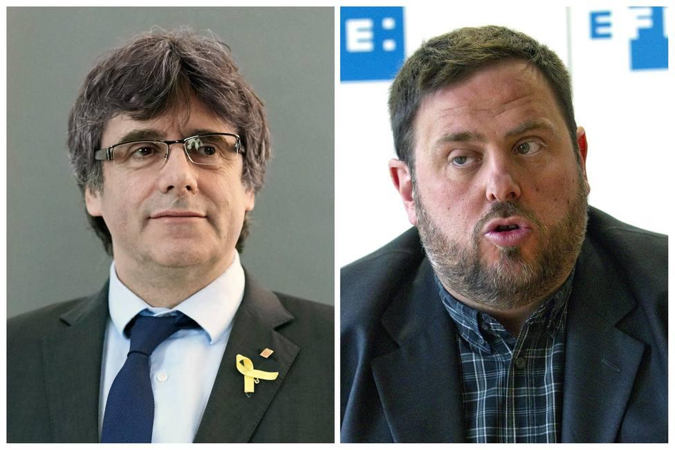 Junqueras y Puigdemont preteden abonar los 4 millones de su fianza con pagos ya depositados