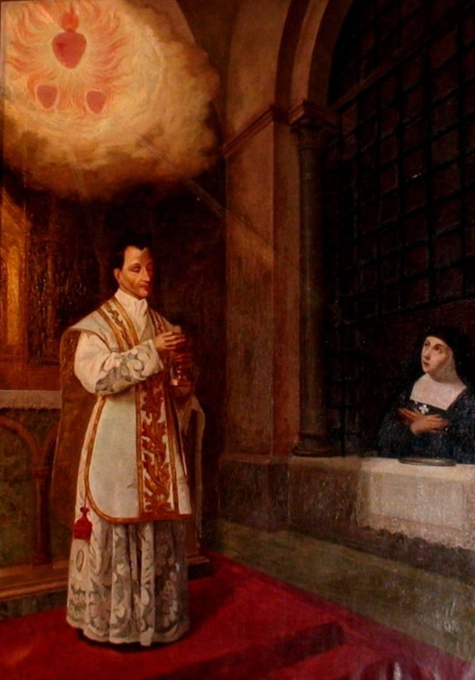 San Claudio de la Colombiére: jesuita y propagador del Sagrado Corazón de Jesús