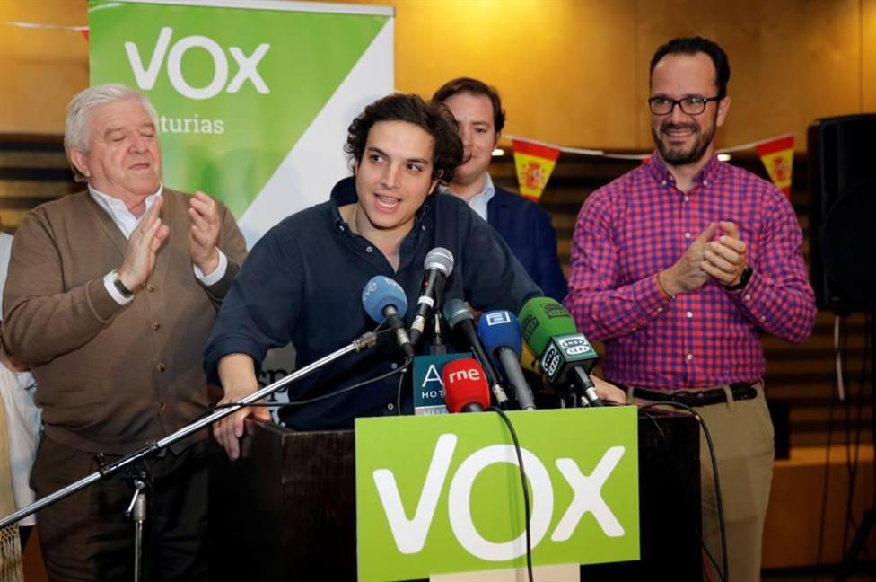 El diputado de Vox por Asturias