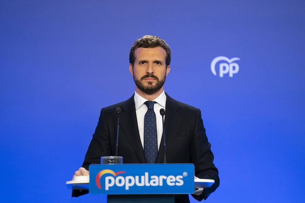 El PP arranca su propia desescalada y recupera la asistencia presencial a ruedas de prensa