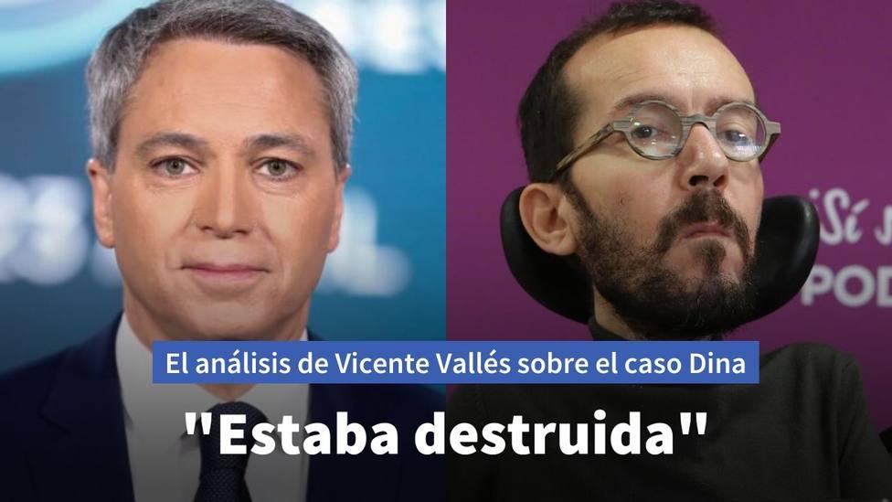 Vicente Vallés y Pablo Echenique