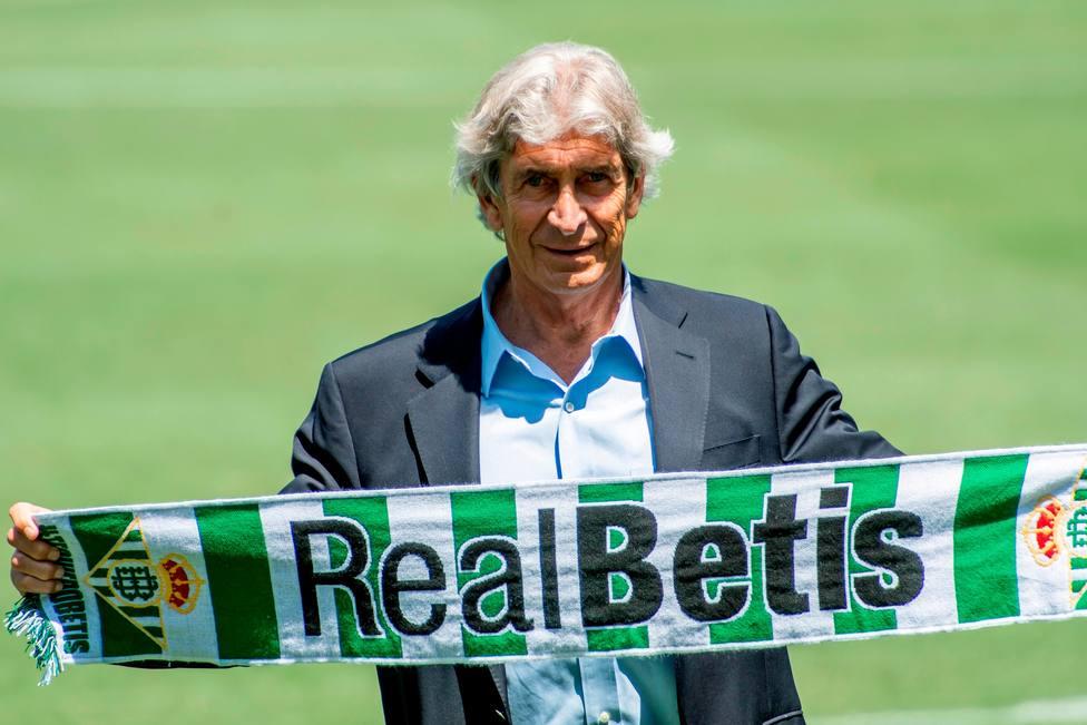Presentación Manuel Pellegrini con el Betis