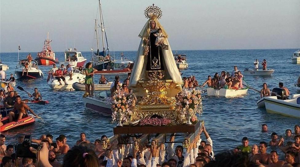 Procesión marinera en Valencia (imagen de archivo)