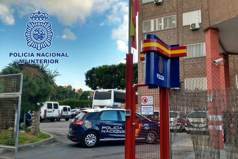 Cuatro hombres detenidos tras robar en un cortijo de Carreteta del Mami (Almería)