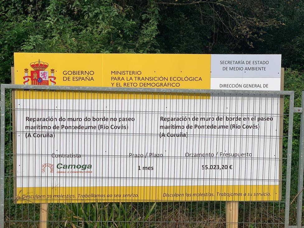 Las obras estarán financiadas por el Ministerio para la Transición Ecológica