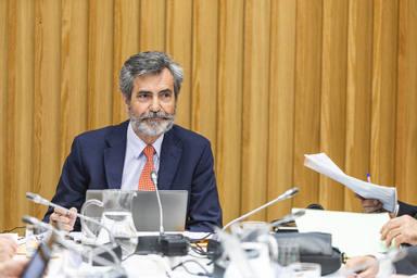 Pleno del Consejo General del Poder Judicial en Pontevedra